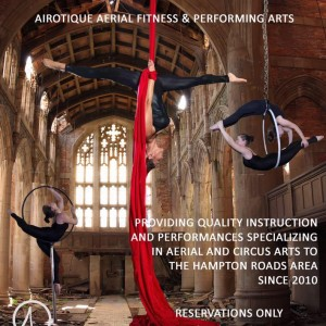 AIRotique aerial performance - Aerialist in Virginia Beach, Virginia