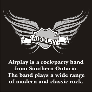 Airplay - Cover Band / College Entertainment in Waterloo, Ontario