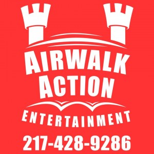 Airwalk Action Entertainment - Party Inflatables / Airbrush Artist in Decatur, Illinois