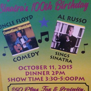 Al Russo Sounfs of Sinatra and More - Crooner in Little Falls, New Jersey