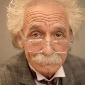 Albert Einstein lookalike/impersonator - Look-Alike in Louisville, Kentucky