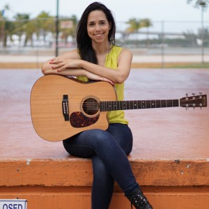 Alejandra Jimenez - Singing Guitarist / One Man Band in Miami, Florida