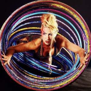 Alesya Gulevich Visual Artist and Entertainer - Hoop Dancer in Miami, Florida