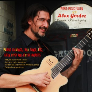 Alex Gordez - World fusion guitar - Guitarist / Bossa Nova Band in Raleigh, North Carolina