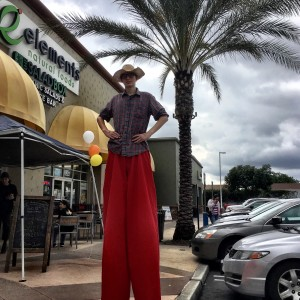 Alex Gruenenfelder: Stilt Walker - Stilt Walker in Los Angeles, California