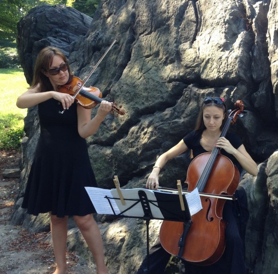 Christmas Canon Piano Solo: Hire Alexandra NYC Cellist And Strings