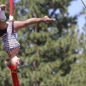 Alexxa Latta - Aerialist in South Lake Tahoe, California