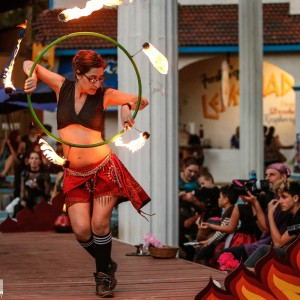 AlieRose - Fire Performer in Spring, Texas