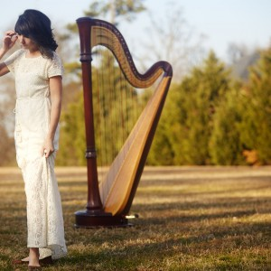 Alisa Coffey - Harpist in Little Rock, Arkansas