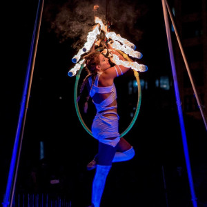 Allie PyroCat - Fire Dancer in Chicago, Illinois