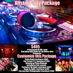 Allstar DJ Long Island - Mobile DJ in Bellport, New York