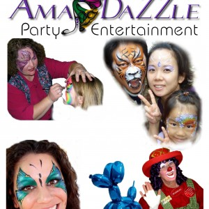 AmaDazzle Arts - Face Painter / Outdoor Party Entertainment in Amarillo, Texas