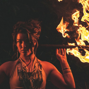 Amanda Atkins - Fire Dancer in Asheville, North Carolina