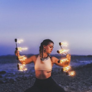 Amanda Morgan Flow Arts - Fire Dancer in Lodi, Wisconsin