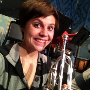 Amanda Wahl, trumpet player