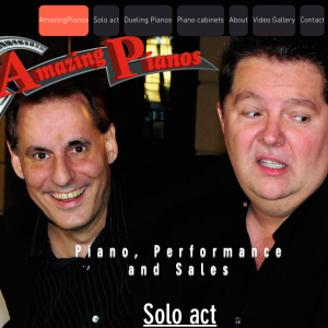 AmazingPianos - Dueling Pianos / Classic Rock Band in Mesa, Arizona