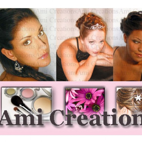 Myrtle Beach Wedding Makeup : Hire Ami Creations Location Bridal Hair and Airbrush Makeup ...