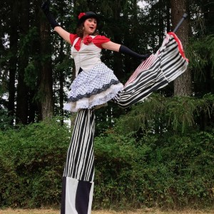 Amira Stiltcore - Stilt Walker in Vancouver, British Columbia