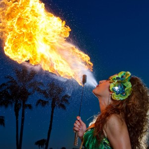 AmoraFire - Fire Performer in Orlando, Florida