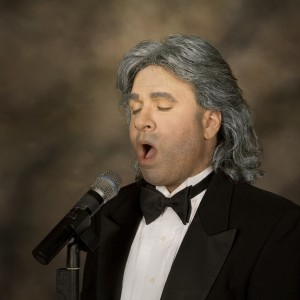 Andrea Bocelli - Look-Alike in Boston, Massachusetts