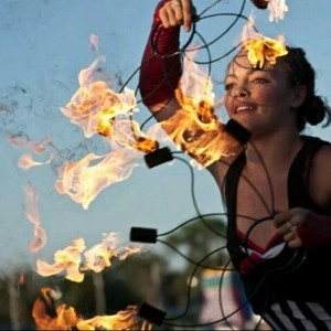 Andrea Dee Performance Art - Fire Performer in Omaha, Nebraska