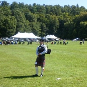 Andrew Remington Bagpiper - Bagpiper in Canterbury, New Hampshire