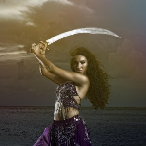 Angela Hicks ~ Sword Balancer - Belly Dancer in Naples, Florida