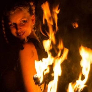 Angelica Faith - Fire Dancer in Sacramento, California