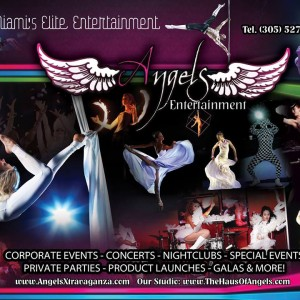 Angels Entertainment - Circus Entertainment / Burlesque Entertainment in Miami, Florida
