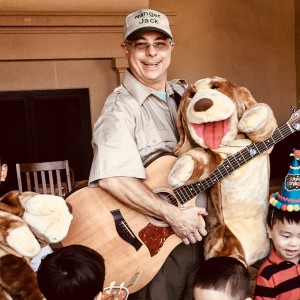 RANGER JACK's Music & Puppet Show - Children's Party Entertainment / Costumed Character in Orange County, California