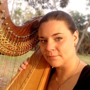 Anna Grace Bennett, harpist, pianist, & vocalist - Harpist / Wedding Musicians in Spartanburg, South Carolina