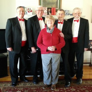 Chordially Yours - Barbershop Quartet in Greensboro, North Carolina
