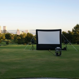Anywhere Cinema - Outdoor Movie Screens / Outdoor Party Entertainment in Tulsa, Oklahoma