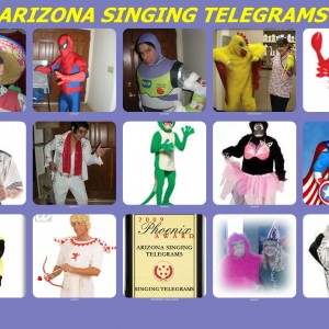 Arizona's Ultimate Singing Telegram Company - Singing Telegram / DJ in Gilbert, Arizona
