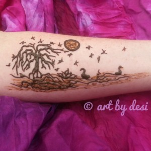 Art By Desi - Henna Tattoo Artist / Temporary Tattoo Artist in Hartsville, South Carolina