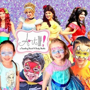 """Art me! a Traveling Paint & Party Studio"" - Face Painter / Princess Party in Ottawa, Ohio"