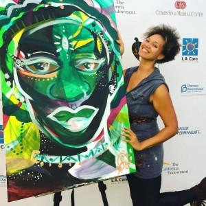 Artist Shelley Bruce