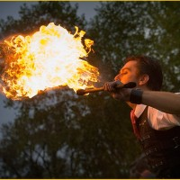 Artist Tom Hill - Sideshow / Fire Eater in Chicago, Illinois