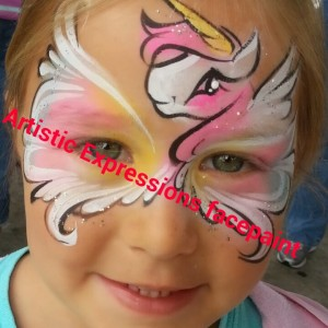 Artistic expressions face and body painting - Face Painter / Halloween Party Entertainment in Orlando, Florida