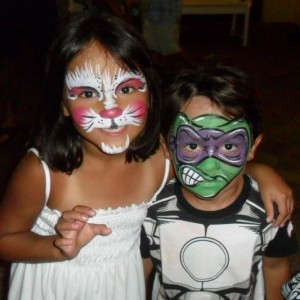 Arts on the Beach Face Painting - Face Painter / Mardi Gras Entertainment in Destin, Florida