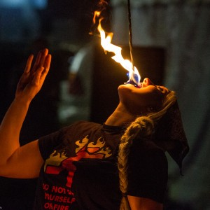 Ash and Flame - Fire Performer in Manhattan, New York