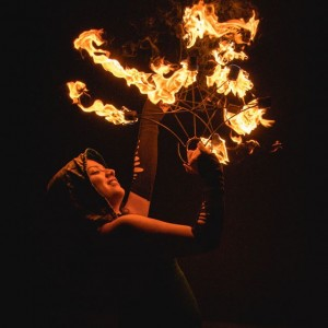 Ashley Elise Fire and LED Entertainer - Circus Entertainment in Miami, Florida