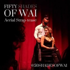 FIFTY SHADES of WAI: Aerial Strap-tease - Aerialist / Interactive Performer in Las Vegas, Nevada