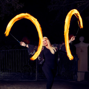 Autumn Lyfe with Just Add Fire - Fire Performer in Destin, Florida