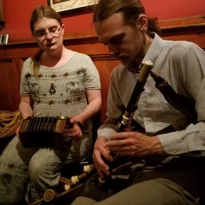 Autumn Rhodes and Tim Hill - Celtic Music in San Francisco, California