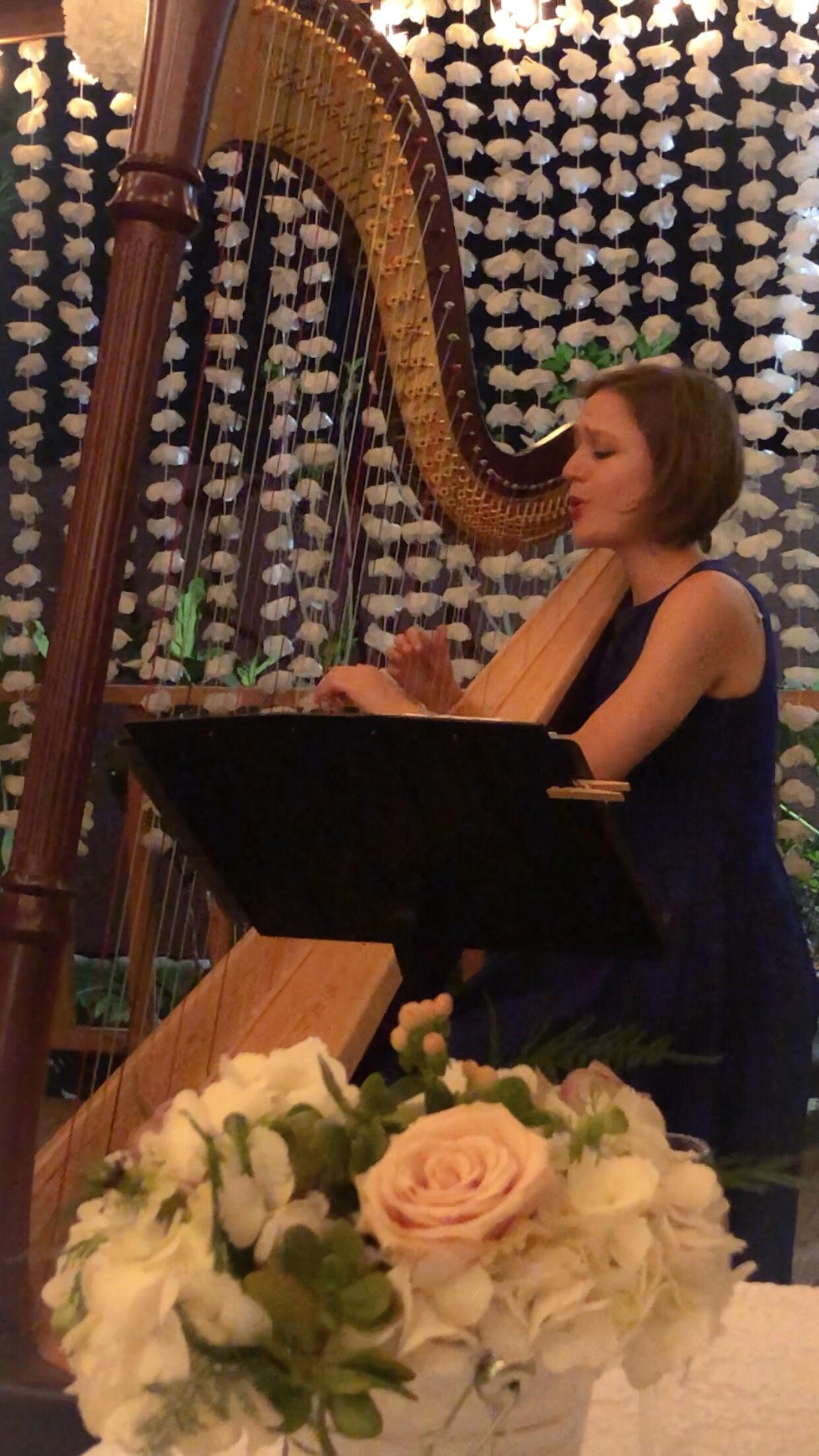 Hire Harpist and Singer Liza Wallace - Harpist in Los Angeles ...