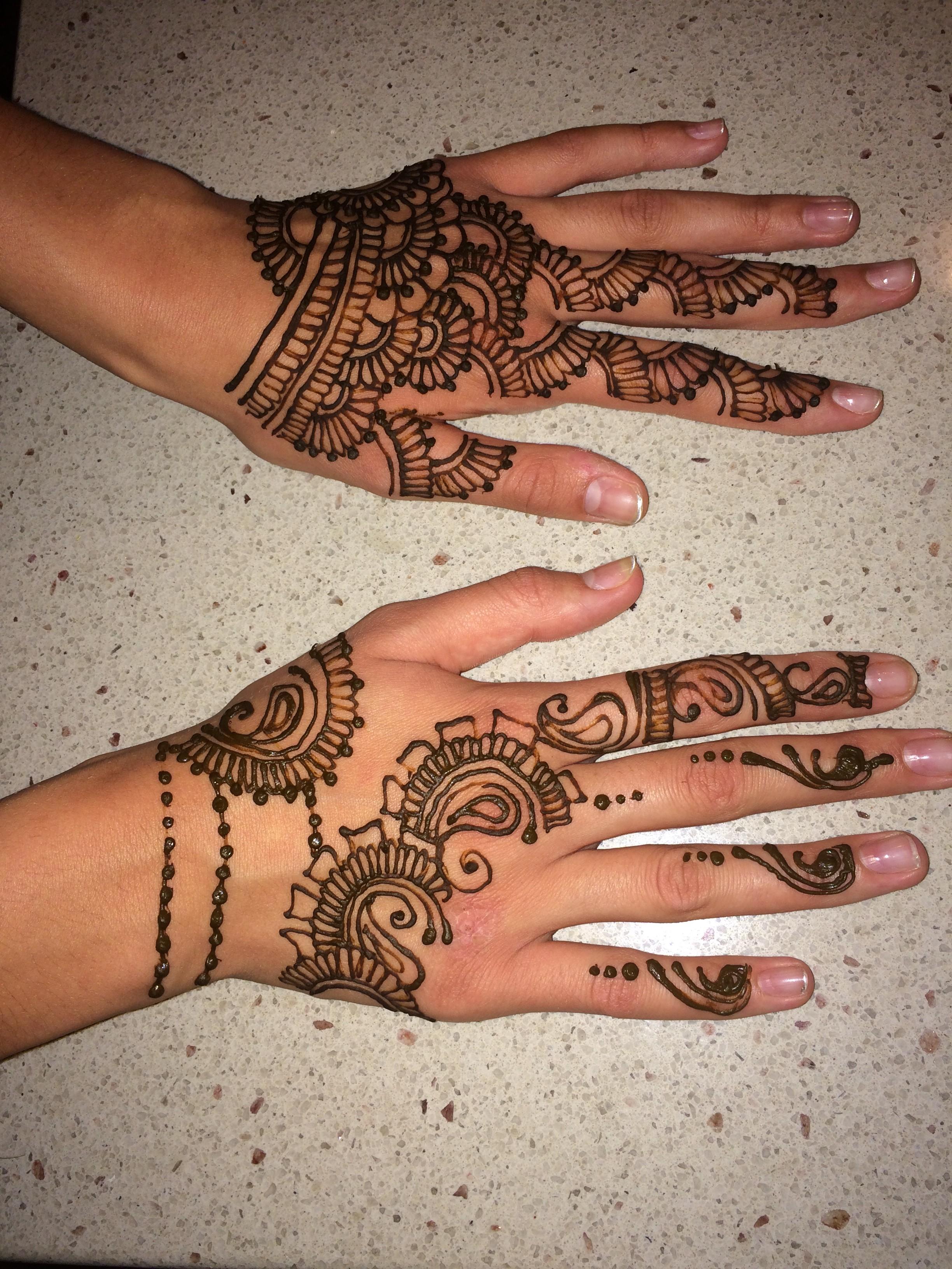 Henna Tattoo Milwaukee : Hire hands of henna by anita tattoo artist in