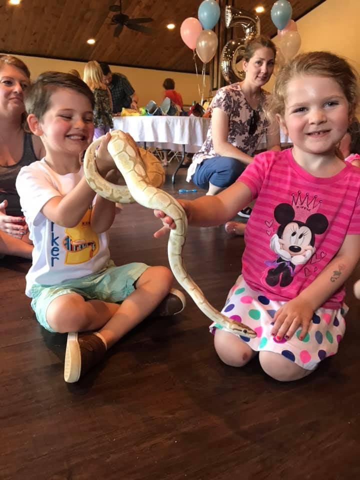 Hire The Lizard Lady Animal Entertainment in Maryville