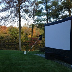 Back Porch Cinema - Outdoor Movie Screens / Halloween Party Entertainment in Evansville, Indiana