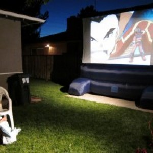 Backyard Flicks Outdoor Cinema